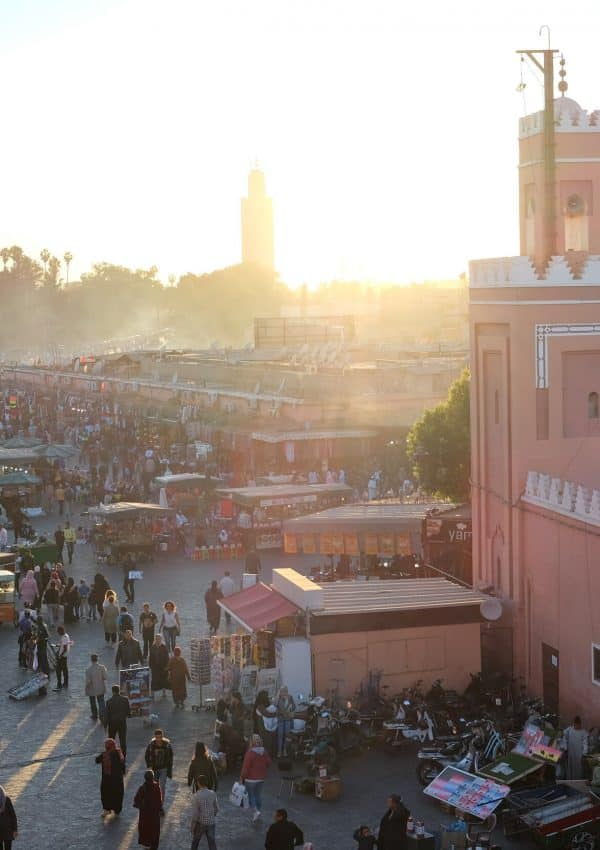 Jemma el Fnaa Square in Marrakech, Morocco