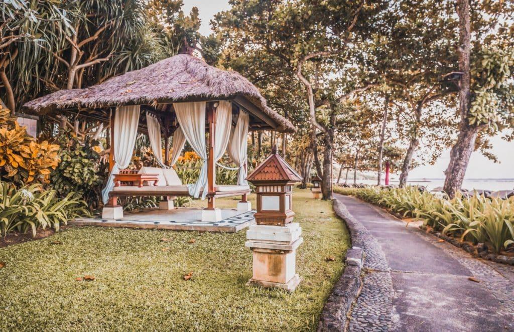 What's Nusa Dua Like in Bali - Day bed near Nusa Dua beach