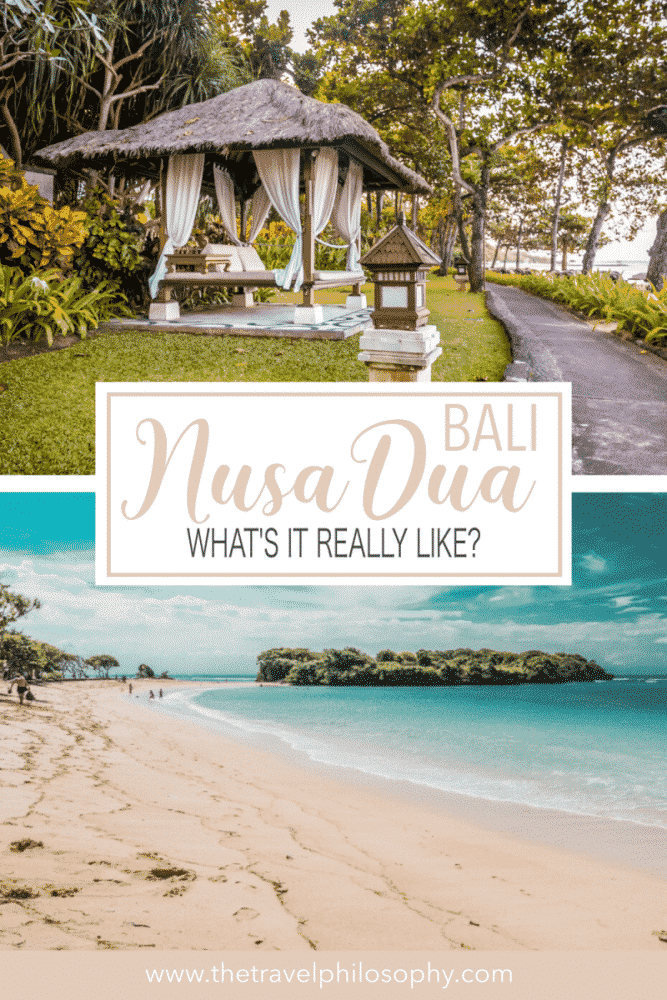 What's Nusa Dua like in Bali? From white sand beaches to five-star resorts, find out everything you need to know about planning a holiday in Nusa Dua.