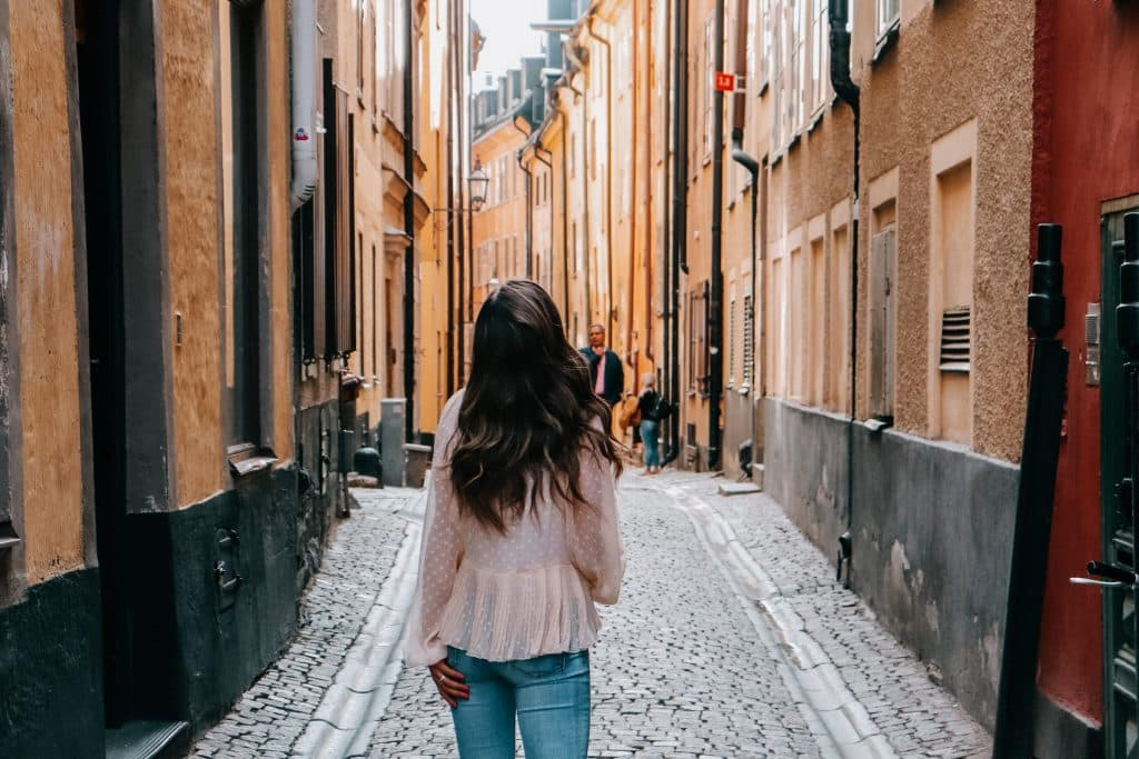Getting lost in Stockholm, Sweden
