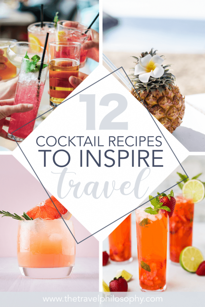 12 Drinks From Around the World to Inspire Wanderlust