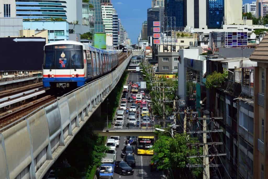 Ultimate Guide to Bangkok Thailand | Bangkok Skytrain (BTS)