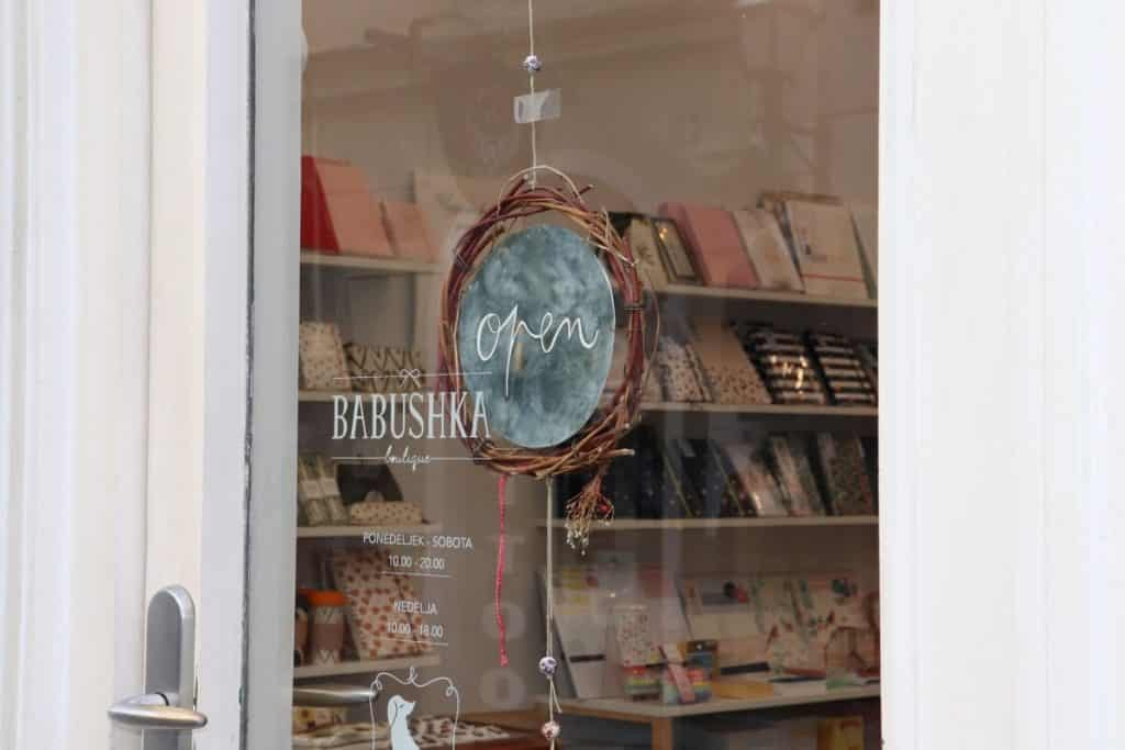 Babushka Boutique in Ljubljana, Slovenia | How You Can Support Small Businesses in Tourism