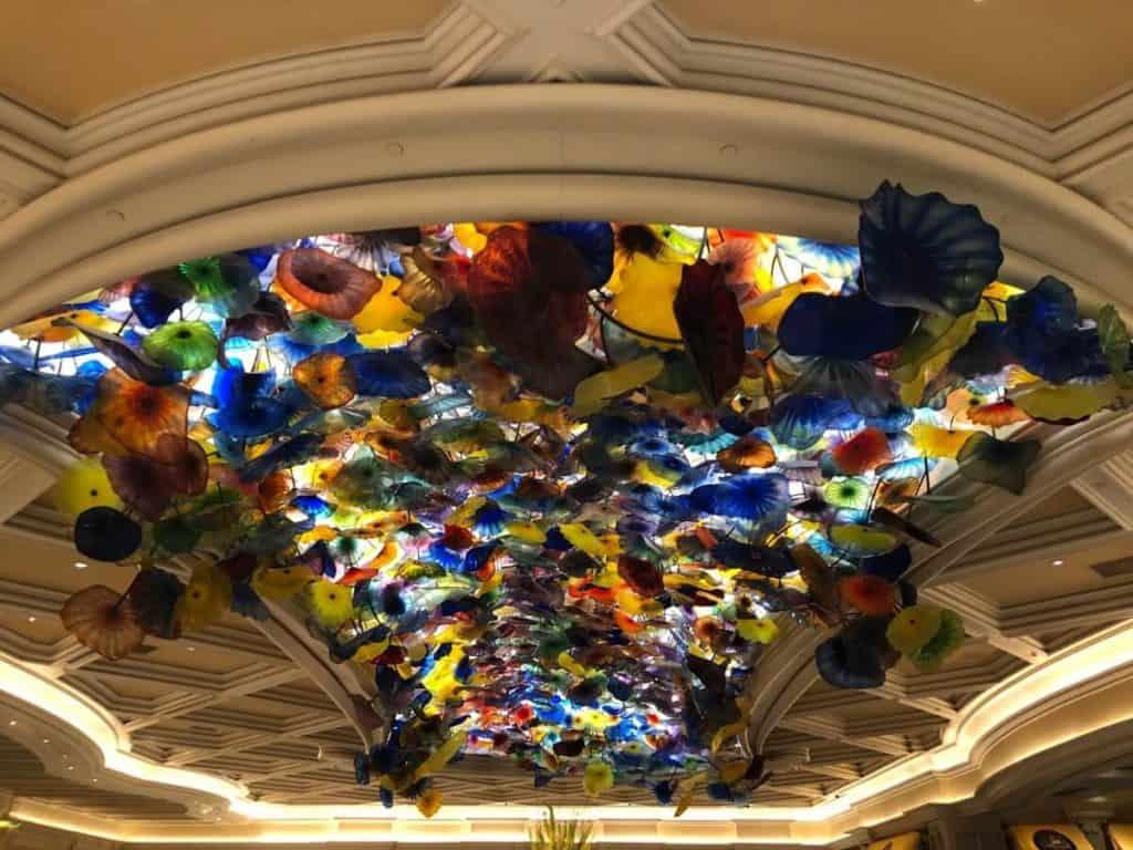 Bellagio Hotel lobby in Las Vegas