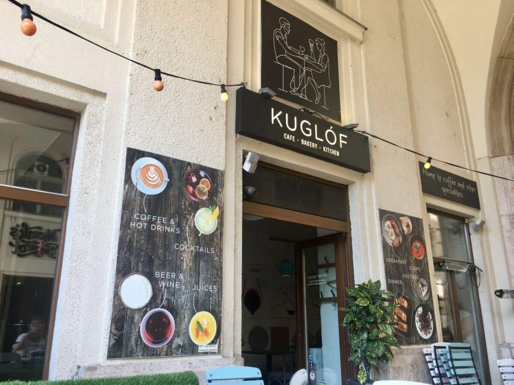 Kuglof Cafe - Budapest Weekend Guide