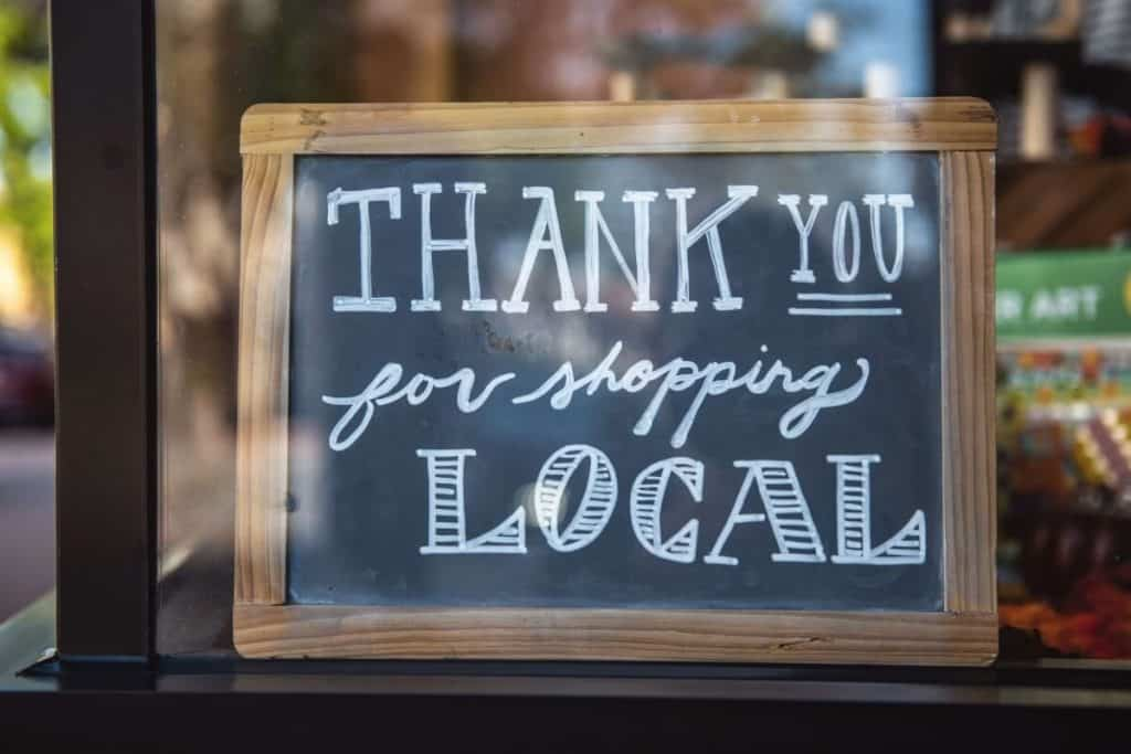 Local shop window | How You Can Support Small Businesses in Tourism