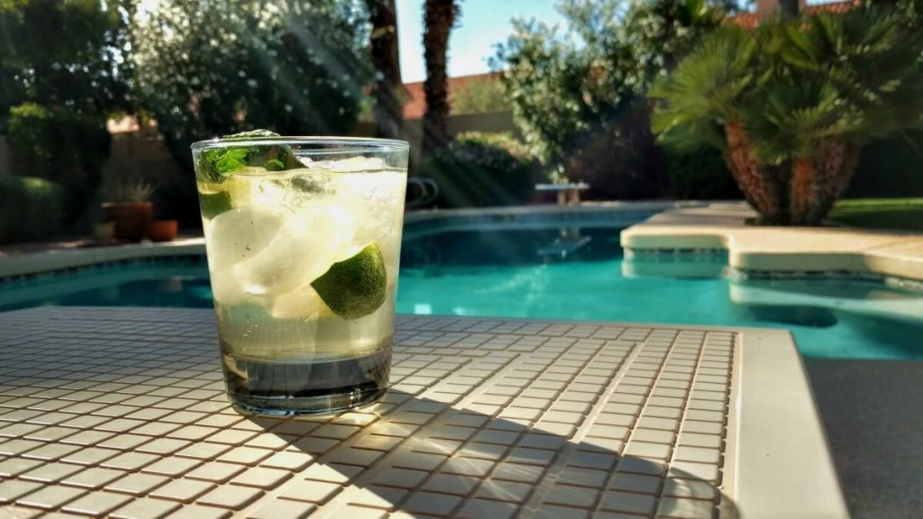 Mojito by the pool | 12 Drinks From Around the World to Spark Your Wanderlust
