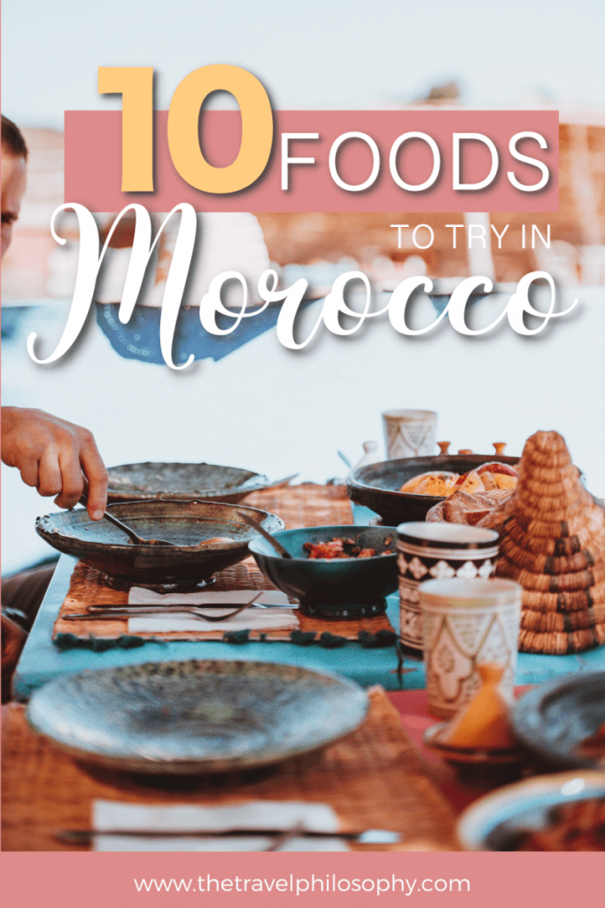 Ten Foods to Try in Morocco