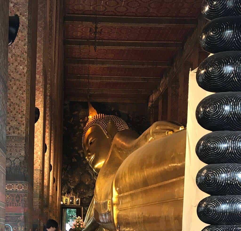 Ultimate Guide to Bangkok | Famous reclining Buddha located in Wat Pho, Bangkok