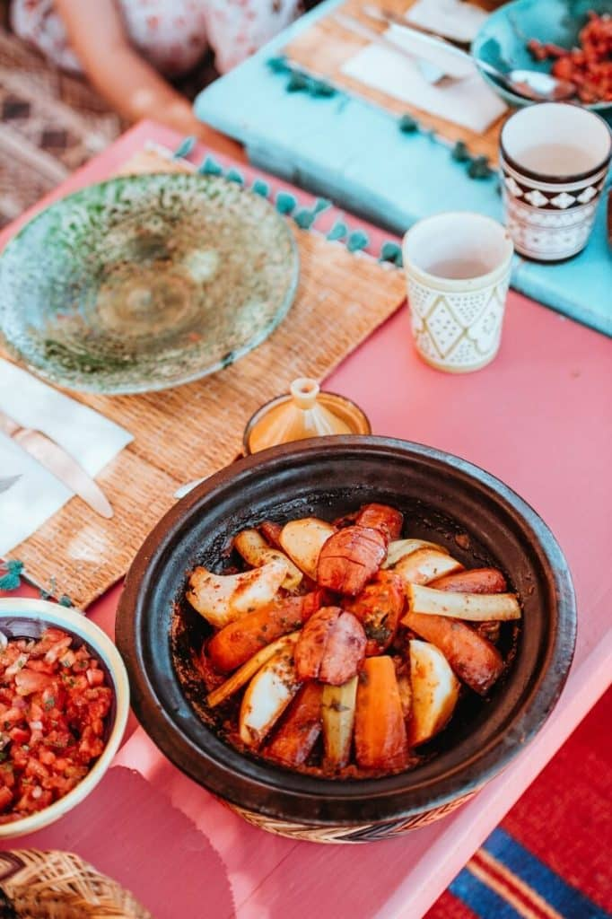 Traditional Moroccan tajine