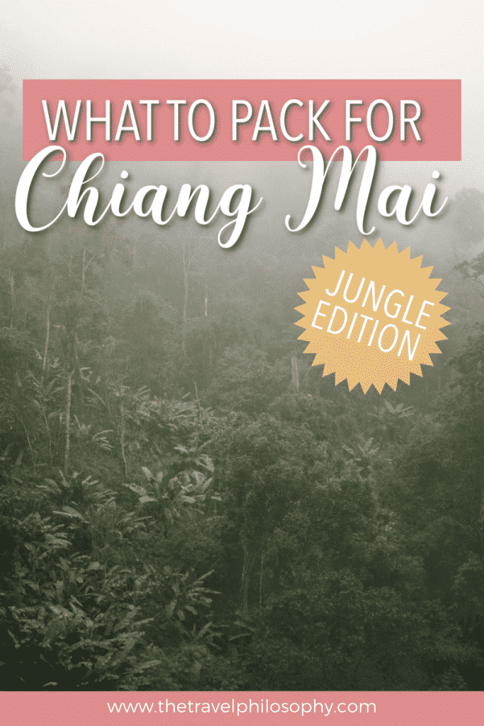 What to Pack for Chiang Mai, Thailand