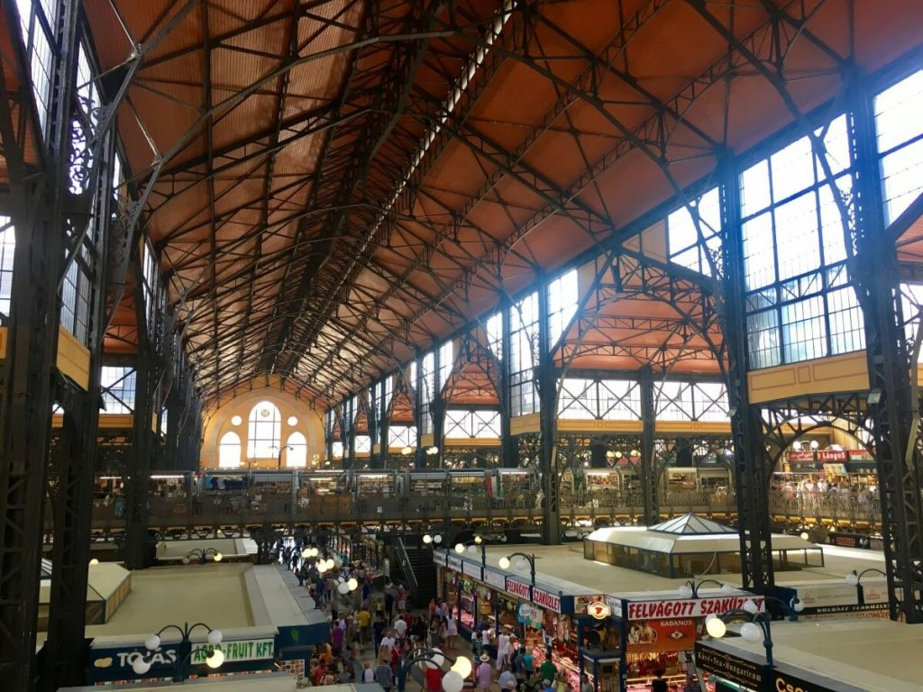 Central Market Hall - Budapest Weekend Guide