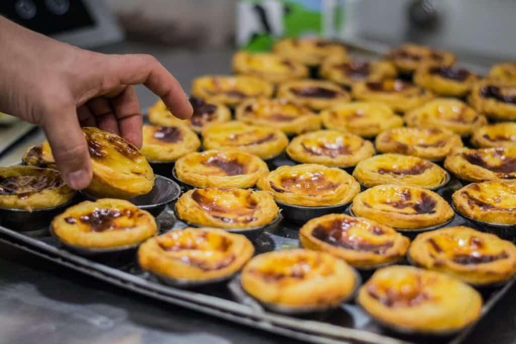 Portuguese Pasteis de Nata