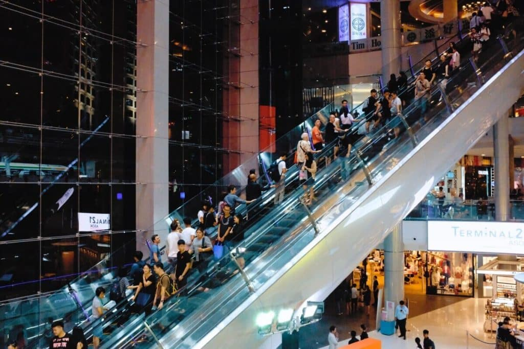 Terminal 21 Mall in Bangkok, Thailand
