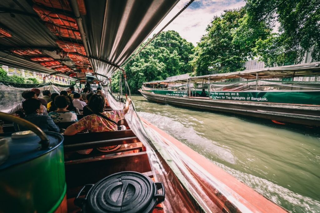 Longtail Boat in Bangkok