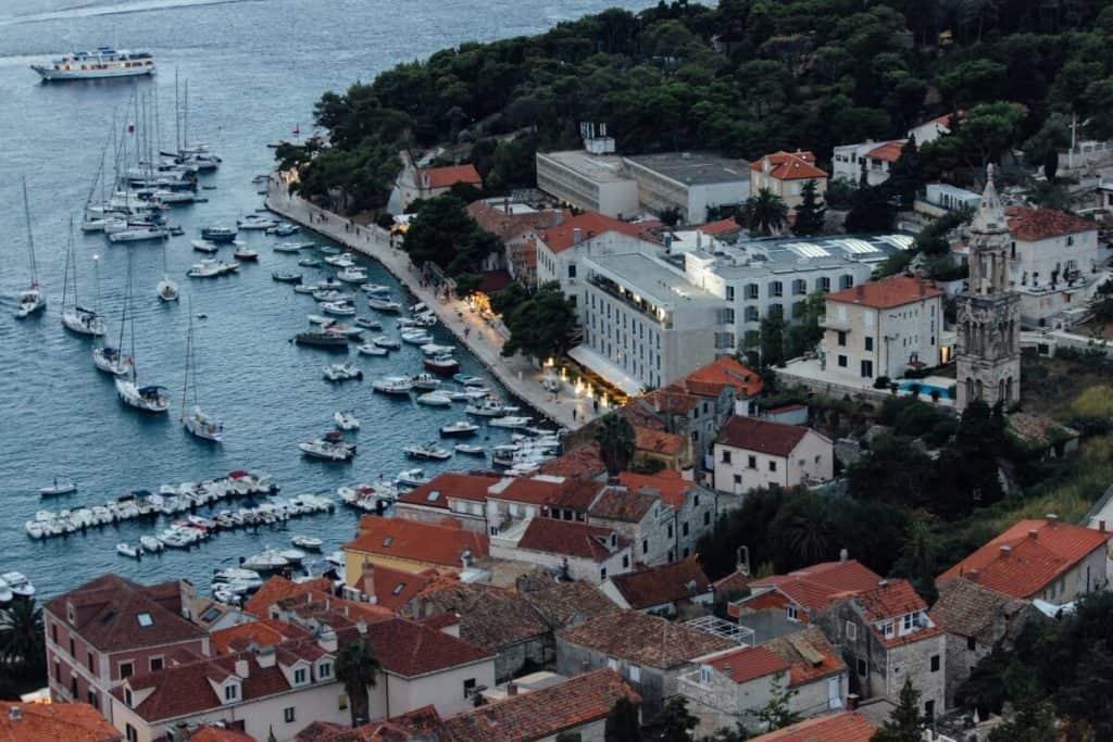 Hotels on Hvar Island, Croatia