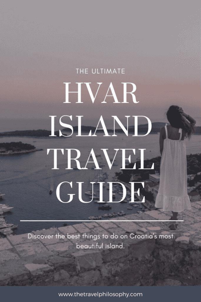 Hvar Island Travel Guide