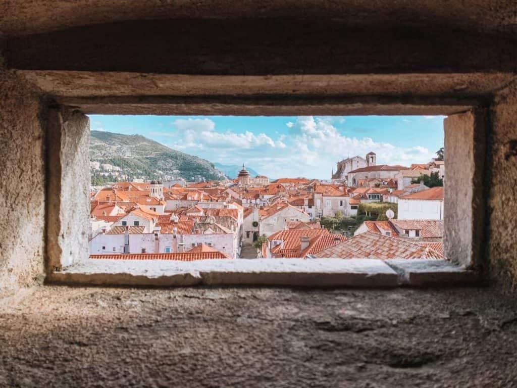 Dubrovnik Croatia rooftops