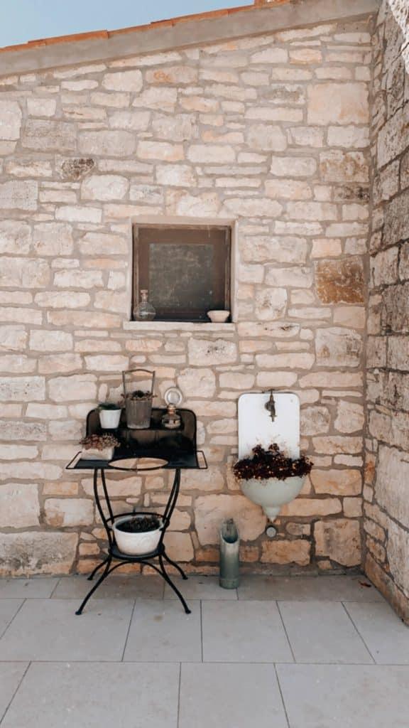 Stone house in Kotle, Istria Croatia