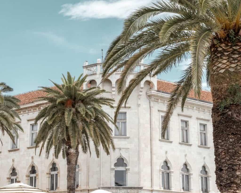 Trogir, Croatia architecture