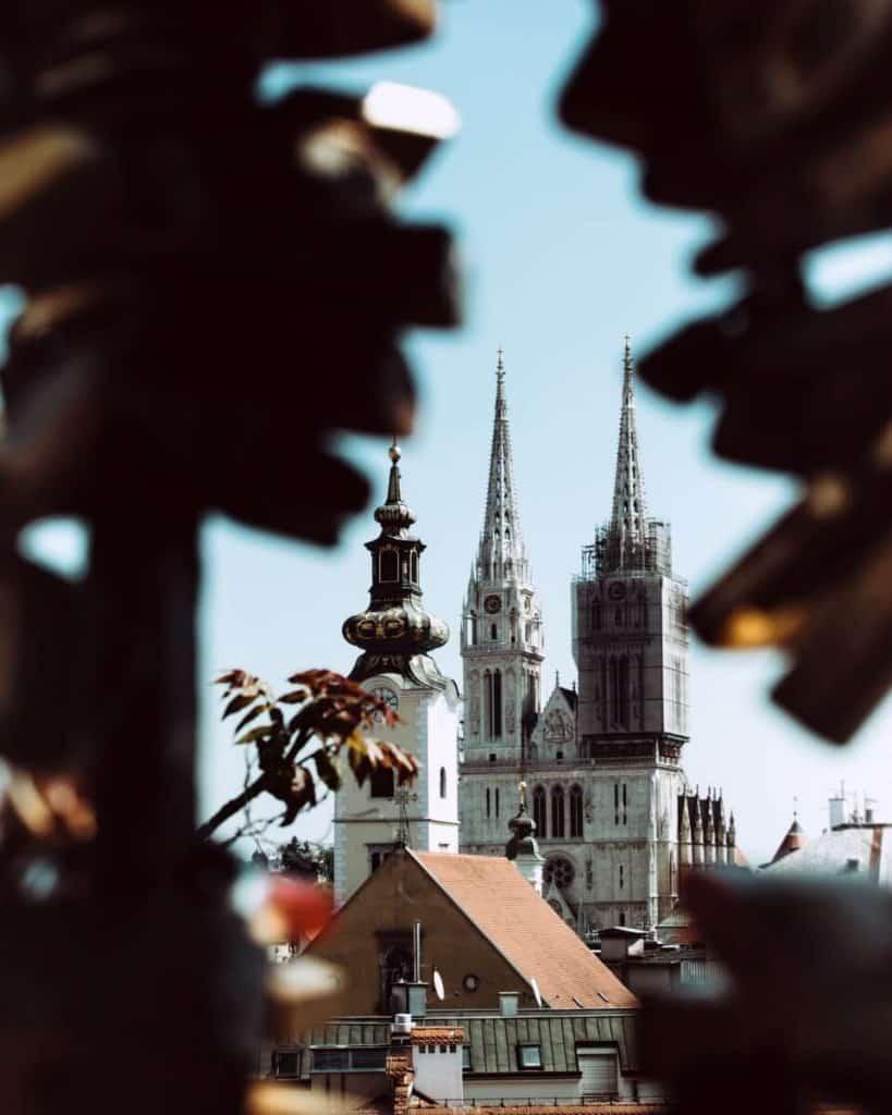 Zagreb Croatia Cathedral