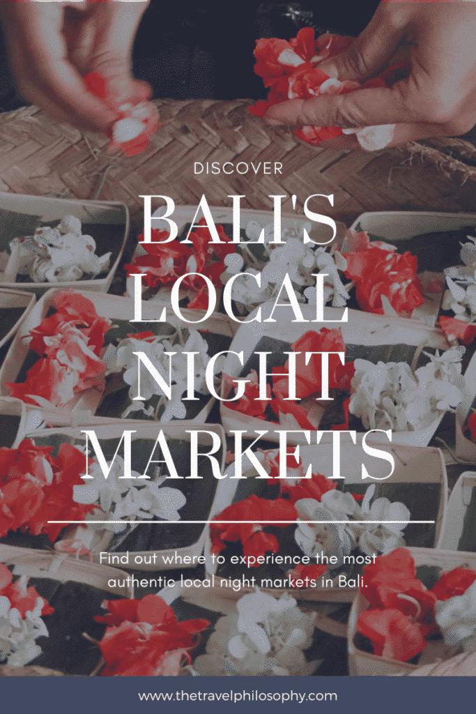 Exploring Gianyar Night Market in Bali