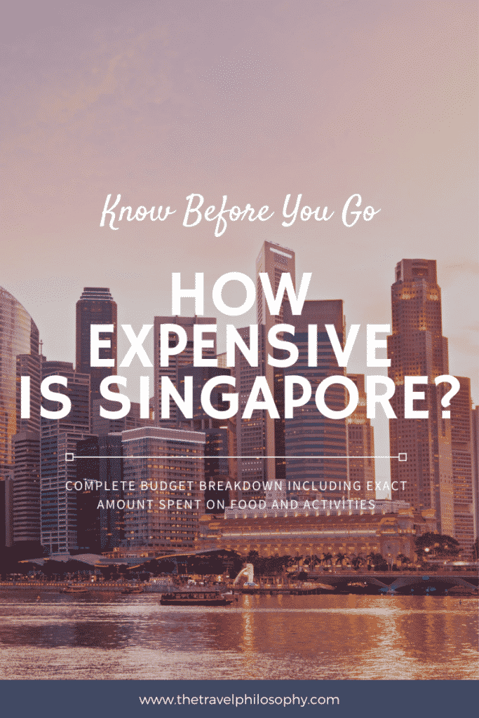 How Expensive Is Singapore?