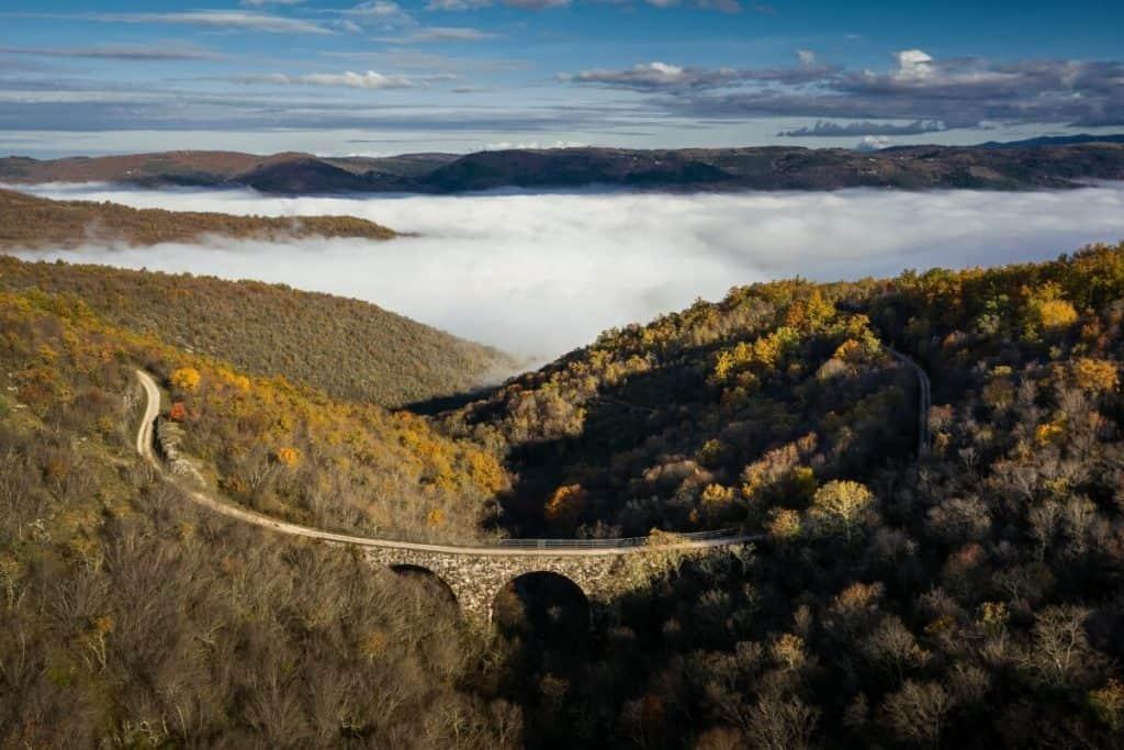 The Most Unique Things to Do in Croatia | Parenzana Trail in Istria, Croatia