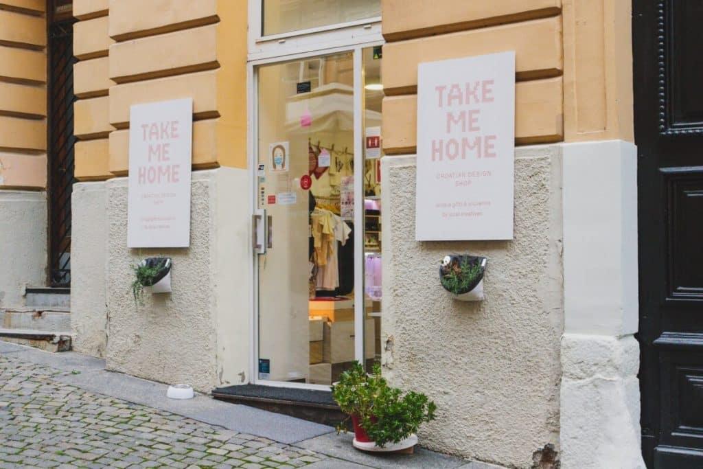 Shopping in Croatia - Take Me Home Design Shop in Zagreb
