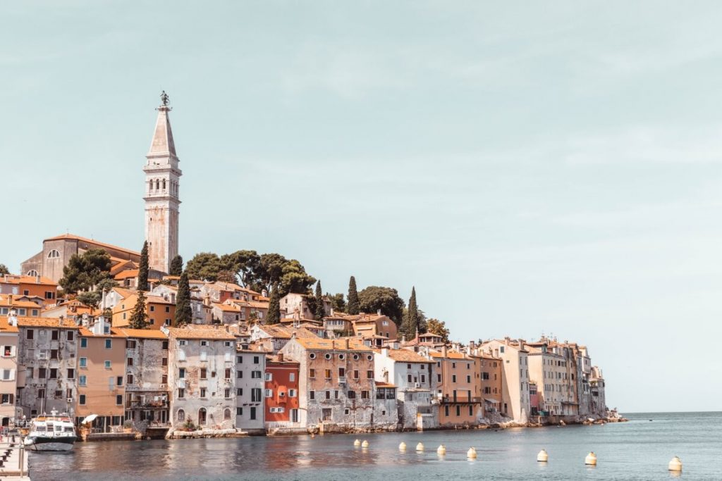 Town of Rovinj in Croatia