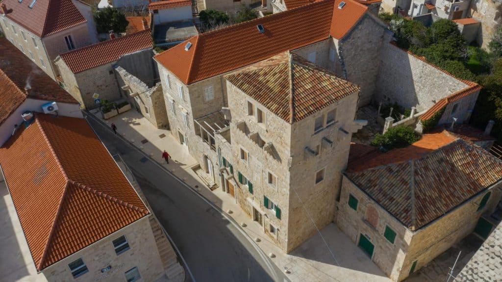 Castle on Brac Island, Croatia