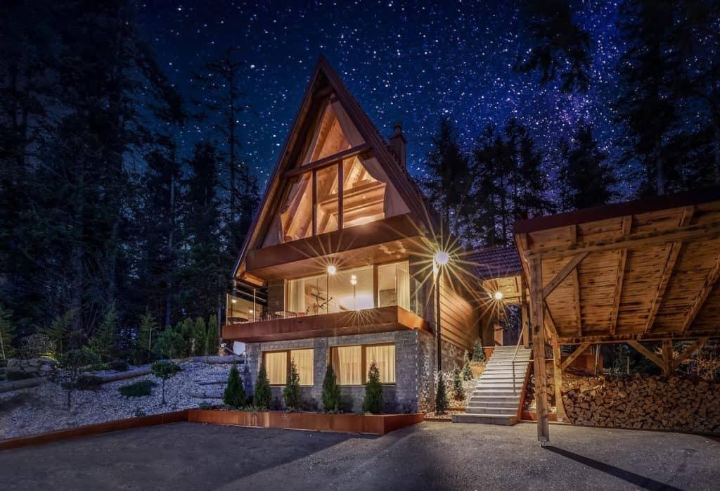 Forest Villa Airbnb in Croatia