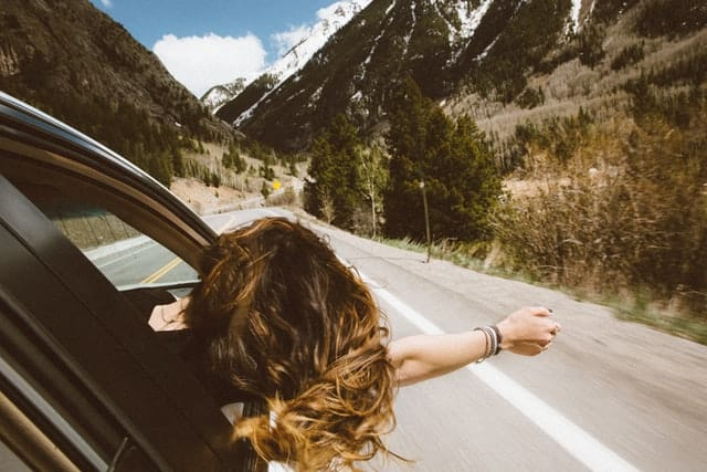 Road trip drive