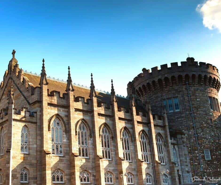 Dublin Castle in Ireland | Best Summer Road Trips in Europe