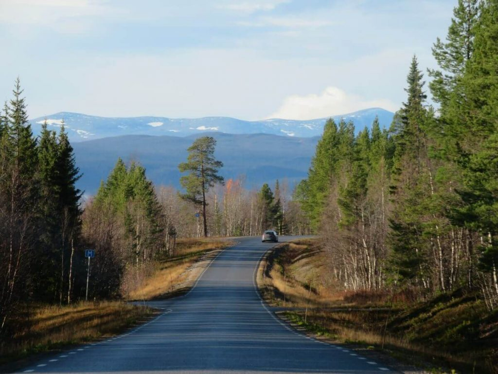 Swedish Lapland Road Trip