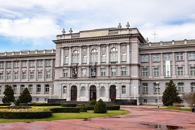 Mimara Museum in Zagreb Croatia