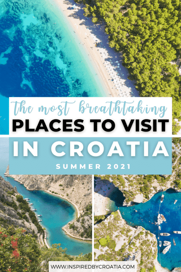 The most breathtaking places to visit in Croatia