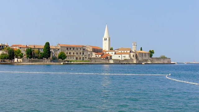 A sunny view of Porec, Croatia | 7 Day Istria Itinerary