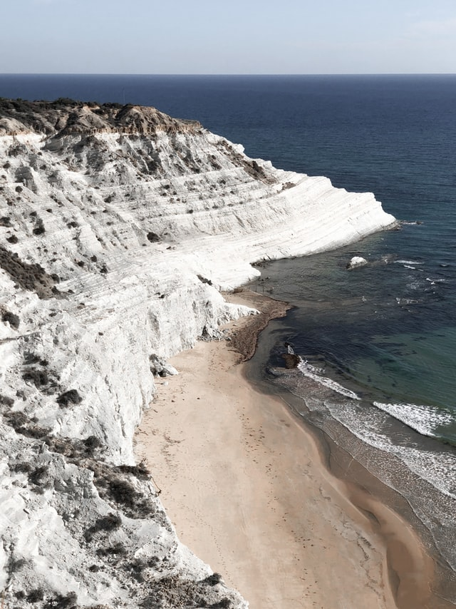 Scala dei Turchi - one of the most beautiful beaches in Europe, located in Sicily, Italy.